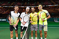Rotterdam, The Netherlands, 17 Februari, 2018, ABNAMRO World Tennis Tournament, Ahoy, Tennis, Horia Tecau (ROU) / Jean-Julien Rojer (NED), Mate Pavic (CRO) / Oliver Marach (AUT)<br /> <br /> Photo: www.tennisimages.com