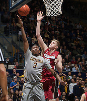 CAL Basketball vs Stanford, January 14, 2015