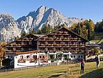 ITA, Italien, Suedtirol, Meran 2000: Ski- und Wandergebiet oberhalb Merans, Hotel Falzleben | ITA, Italy, South Tyrol, Alto Adige, Merano 2000: ski and hinking area above Merano, Hotel Falzleben