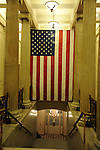 """US Flag off Rotunda US Capitol, American flag Inside US Capitol, Rotunda of US Capitol, United States Capitol Washington D.C., United States Capital and legislature, Federal government of the United States of America Washington D.C., National Mall, Capitol Hill, Capitol, Capital, quadrants of the District, East and West side of the Capitol 'fronts,"""" East side of Capitol side to arrive for visitors, American Neoclassicism, Architect William Thornton, United States Constitution ratification 1789, L'Enfant, surrounding area of Washington DC, US Capitol, Capitol, United States Congress, Washington, D.C. fine art photography by Ron Bennett (c). Copyright,  Washington DC, District, DC, capital, Potomac River, Washington Metropolitan, metropolitan area, federal district, federal government of USA, US Congress, White House, National Mall, Politics in the United States, Presidential, Federal Republic, united States Congress, powers, Judicial Power, House of Representatives, US Senate, Constitution, federal law, Democratic Party, Republican party, two party system, Fine Art Photography by Ron Bennett, Fine Art, Fine Art photo, Art Photography, Bennett Photography, Bennett, award winning photography,"""