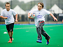 PUPILS FROM PRESTONFIELD PRIMARY TAKE PART IN THE TOUCH WORLD CUP YOUTH FESTIVAL AT PEFFERMILL.