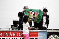 MANAUS (AM), 28/11/2019 - CIRO GOMES-MANAUS. Ciro e Hissa Abrahão. Ciro Gomes do PDT em palestra no no auditório Eulalio Chaves, Universidade Federal do Amazonas (UFAM), na noite desta quinta-feira (28).<br /> Foto: Sandro Pereira/Codigo19