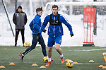 St Johnstone Training…<br />Jamie McCart pictured during training ahead of Sundays game against Celtic.<br />Picture by Graeme Hart.<br />Copyright Perthshire Picture Agency<br />Tel: 01738 623350  Mobile: 07990 594431