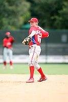 August 12, 2008: Alan Schoenberger of the GCL Phillies.  Photo by: Chris Proctor/Four Seam Images
