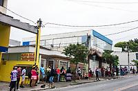 17/12/2020 - FILAS EM AGÊNCIA DA CAIXA ECONOMICA