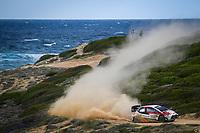 SEBASTIEN OGIER<br /> Rally d'Italia 2020 Sardegna <br /> Foto Andre Lavadinho / Panoramic / Insidefoto <br /> ITALY ONLY