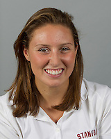 Rachel Johnson member of Stanford women's water polo team. Photo taken Tuesday, September 25, 2012. ( Norbert von der Groeben )
