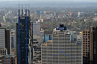 KENYA Nairobi, buildings in city centre, Ecobank building / KENIA Nairobi, Gebaeude in der Innenstadt, Ecobank
