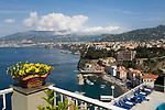 ITA, Italien, Kampanien, Sorrento: mit Marina grande | ITA, Italy, Campania, Sorrento: with Marina grande