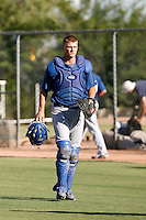 Gorman Erickson - Los Angeles Dodgers 2009 Instructional League. .Photo by:  Bill Mitchell/Four Seam Images..