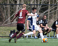 The Winthrop University Eagles played the UNC Wilmington Seahawks in The Manchester Cup on April 5, 2014.  The Seahawks won 1-0.  Jordan Cordero (18), Magnus Thorsson (8)