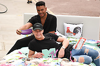Nathan Henry and Scotty T<br /> Cast members of Geordie Shore take Shag Pad on Tour to launch series 15, London. <br /> <br /> <br /> ©Ash Knotek  D3293  10/08/2017