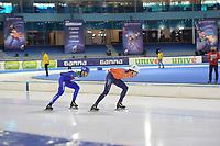 SPEEDSKATING: HEERENVEEN: 13-02-2021, IJsstadion Thialf, ISU World Speed Skating Championships 2021, ©photo Martin de Jong