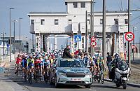 race director Wim Van Herreweghe at the race start in Antwerpen<br /> <br /> Elite Men World Championships - Road Race<br /> from Antwerp to Leuven (268.3km)<br /> <br /> UCI Road World Championships - Flanders Belgium 2021<br /> <br /> ©kramon