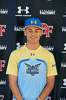 Sebastian Flores during the Under Armour All-America Tournament powered by Baseball Factory on January 17, 2020 at Sloan Park in Mesa, Arizona.  (Mike Janes/Four Seam Images)