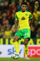 21st September 2021; Carrow Road, Norwich, England; EFL Cup Footballl Norwich City versus Liverpool; Andrew Omobamidele of Norwich City