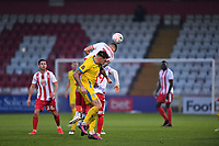 Ross Marshall of Stevenage FC during Stevenage vs Concord Rangers , Emirates FA Cup Football at the Lamex Stadium on 7th November 2020