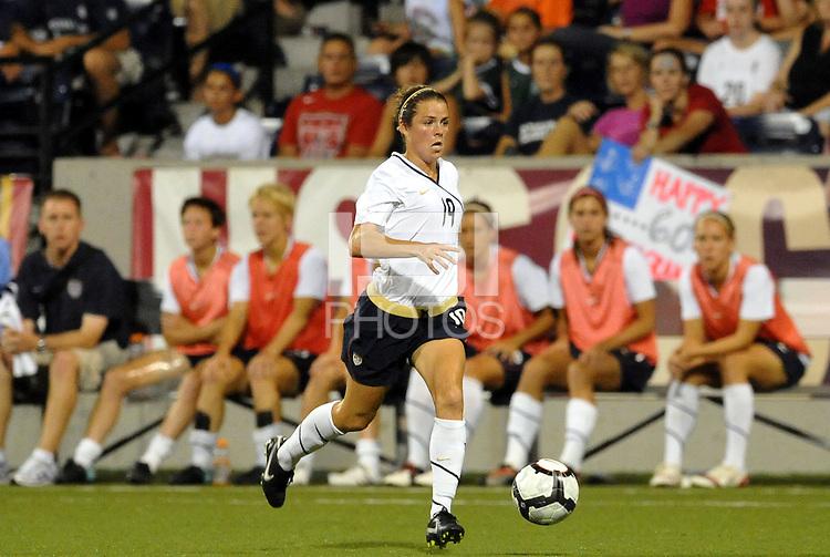 Kelly O'Hara...USWNT tied Sweden 1-1 at Morrison Stadium, Omaha Nebraska.