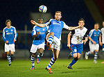 St Johnstone v Inverness Caley Thistle..29.12.12      SPL.Rowan Vine controls the ball.Picture by Graeme Hart..Copyright Perthshire Picture Agency.Tel: 01738 623350  Mobile: 07990 594431