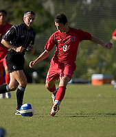 Turkey's Orhan Gulle (8). 2007 Nike Friendlies, which are taking place from Dec. 6-9 at IMG Academies in Bradenton, Fla.