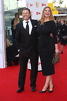 Sean Bean and Georgia Sutcliffe<br />  arriving at the Bafta Tv awards 2017. Royal Festival Hall,London  <br /> ©Ash Knotek