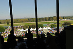 April 12, 2014: Inside the Jockey Club at Oaklawn Park in Hot Springs, AR. Zoie Clift/ESW/CSM