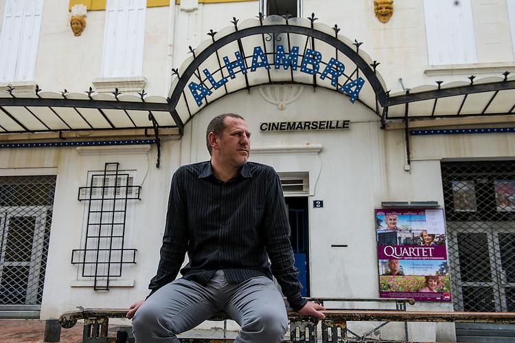 William Benedetto, directeur du Cinéma l'alhambra - Zone franche urbaine ZFU - Marseille 2013