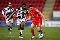 Ruel Sotiriou of Leyton Orient and Ebou Adams of Forest Green Rovers during Leyton Orient vs Forest Green Rovers, Sky Bet EFL League 2 Football at The Breyer Group Stadium on 23rd January 2021