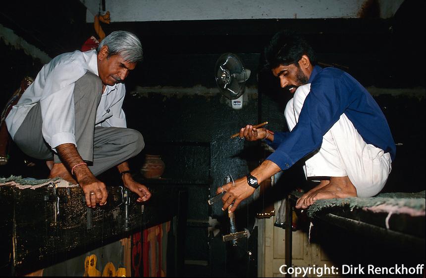 Indien, Udaipur (Rajasthan), Marionetten