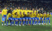 Brazil squad group. Brazil defeated USA 3-2 in the FIFA Confederations Cup Final at Ellis Park Stadium in Johannesburg, South Africa on June 28, 2009.