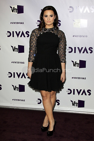LOS ANGELES, CA - DECEMBER 16: Demi Lovato at VH1 Divas 2012 at The Shrine Auditorium on December 16, 2012 in Los Angeles, California. Credit: mpi21/MediaPunch Inc.