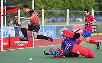 201202 Men's Premier League Hockey - Mavericks v Alpiners