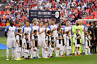 Harrison, NJ - Friday Sept. 01, 2017: USMNT, Volpi prior to a 2017 FIFA World Cup Qualifier between the United States (USA) and Costa Rica (CRC) at Red Bull Arena.