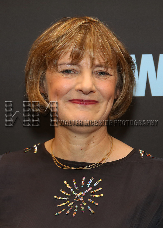 """Lisa Burger attends the Broadway Opening Night Performance  for """"Network"""" at the Belasco Theatre on December 6, 2018 in New York City."""