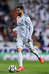 Nacho Fernandez of Real Madrid in action during the La Liga 2017-18 match between Real Madrid and SD Eibar at Estadio Santiago Bernabeu on 22 October 2017 in Madrid, Spain. Photo by Diego Gonzalez / Power Sport Images