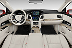 Stock photo of straight dashboard view of 2018 Acura RLX - 4 Door Sedan Dashboard