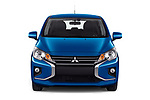 Car photography straight front view of a 2020 Mitsubishi Space-Star IN 5 Door Hatchback Front View