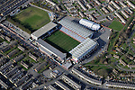 Turf Moor, home of Burnley FC, from the Air