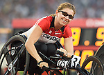 Michelle Stilwell won the gold at the 100 m t-52<br /> - Photo Benoit Pelosse-CPC