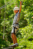 Summer campers participate in high adventure activities at the U.S. National Whitewater Center in Charlotte, NC. The USNWC is a non-profit outdoor recreation center on 400 acres adjacent to the Catawba River. The whitewater center is an athletic training facility for whitewater rafting and whitewater slalom racing, kayaking, canoeing, rock climbing, mountain biking and hiking. The primary feature of the USNWC is the world's largest and most-complex recirculating artificial whitewater river, which was designed by Scott Shipley, a three-time Olympian.