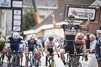 Timothy Dupont (BEL/Verandas Willems) outsprints Fernando Gaviria (COL/Etixx - QuickStep) for victory<br /> <br /> 101st Kampioenschap van Vlaanderen 2016 (UCI 1.1)<br /> Koolskamp › Koolskamp (192.4km)