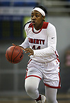 Liberty's Dre'una Edwards had 28 points and 11 rebounds against McQueen during the NIAA state basketball tournament in Reno, Nev., on Thursday, Feb. 22, 2018. Liberty defeated McQueen 71-33. Cathleen Allison/Las Vegas Review-Journal