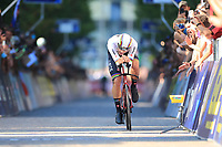 9th September 2021; Trento, Trentino–Alto Adige, Italy: 2021 UEC Road European Cycling Championships, Mens Individual time trials: GANNA Filippo (ITA)