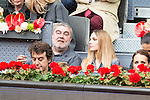 Singer Edurne during  TPA Finals Mutua Madrid Open Tennis 2016 in Madrid, May 08, 2016. (ALTERPHOTOS/BorjaB.Hojas)