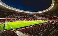 2nd October 2021; Estadio Wanda Metropolitano, Madrid, Spain; Men's La Liga, Atletico de Madrid versus Futbol Club Barcelona; Wanda Metropolitano before the start of the match