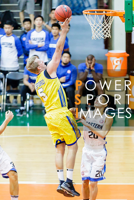 Hosford Ian Daniel #5 of Winling Basketball Club goes to the basket against the Eastern Long Lions during the Hong Kong Basketball League game between Eastern Long Lions and Winling at Southorn Stadium on June 01, 2018 in Hong Kong. Photo by Yu Chun Christopher Wong / Power Sport Images