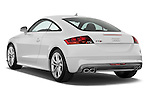 Rear three quarter view of a 2008 - 2010 Audi TTS 3 Door Coupe 2WD