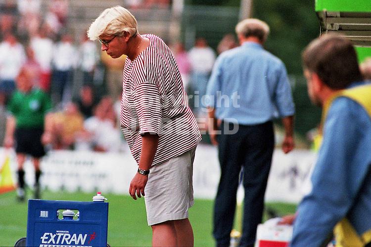 fc groningen - bv veendam seizoen 1997-1998 amstel cup 12-08-1997 gekie meins.fotograaf Jan Kanning