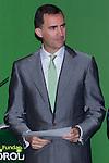 03.07.2012. Princess Letizia of Spain and Prince Felipe of Spain attend Iberdrola Foundation Scholarships 2012 at 'Casa de America' in Madrid. In the image Prince Felipe de Borbon (Alterphotos/Marta Gonzalez)