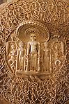 India, Rajasthan, Ranakpur: Jain Temple complex, detail of carving Parshvanata | Indien, Rajasthan, Ranakpur: Jaina-Tempelanlage, Relief im Parshvanatha-Tempel